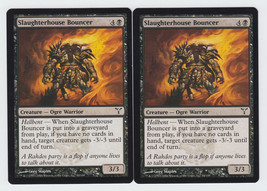 Slaughterhouse Bouncer x 2, CI, Dissension, Common Black, Magic the Gath... - $0.52 CAD