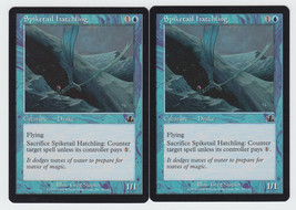 Spiketail Hatchling x 2, LP, Prophecy, Common Blue, Magic the Gathering - $0.62 CAD
