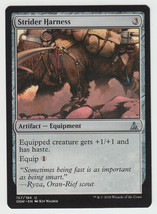 Strider Harness x 1, NM, Oath of the Gatewatch, Uncommon Artifact Equipm... - $0.44 CAD