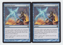 Stymied Hopes x 2, NM, Theros, Common Blue, Magic the Gathering - $0.52 CAD