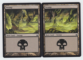 Swamp x 2, NM, Mirrodin Besieged,  Basic Land, Magic the Gathering - $0.62 CAD
