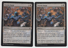 Swarm Surge x 2, NM, Battle for Zendikar, Common Black, Magic the Gathering - $0.54 CAD