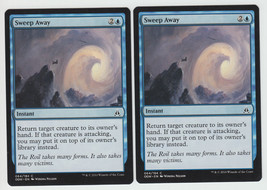 Sweep Away x 2, NM, Oath of the Gatewatch, Common Blue, Magic the Gathering - $0.57 CAD
