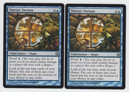 Thieves' Fortune x 2, NM, Morningtide, Uncommon Blue, Magic the Gathering - $0.70 CAD