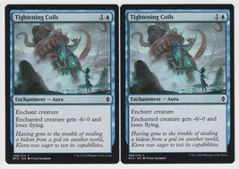 Tightening Coils x 2, NM, Battle for Zendikar, Common Blue, Magic the Ga... - $0.54 CAD