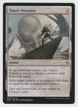 Titan's Presence x 1, NM, Battle for Zendikar, Uncommon Colourless, Magi... - $0.54 CAD
