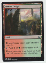Timber Gorge x 1, NM, Oath of the Gatewatch, Un... - $0.48 CAD