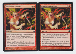 Traitorous Instinct x 2, NM, Return to Ravnica, Common Red, Magic the Ga... - $0.53 CAD