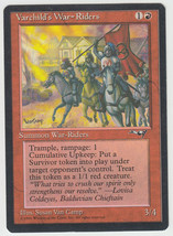 Varchild's War-Riders x 1, LP, Alliances, Rare Red, Magic the Gathering - $1.39 CAD