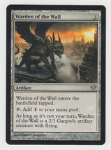 Warden of the Wall x 1, NM, Dark Ascension, Uncommon Artifact, Magic the... - $0.43 CAD