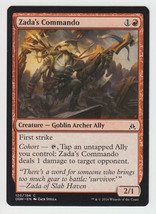 Zada's Commando x 1, NM, Oath of the Gatewatch, Common Red, Magic the Ga... - $0.40 CAD