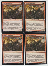 Zada's Commando x 4, NM, Oath of the Gatewatch, Common Red, Magic the Ga... - $0.85 CAD