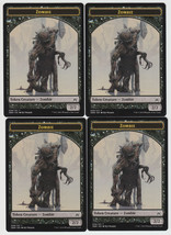 Zombie (008) x 4, NM, Oath of the Gatewatch,  Token, Magic the Gathering - $0.95 CAD