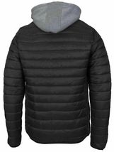 Maximos Men's Slim Fit Lightweight Zip Insulated Packable Puffer Hooded Jacket image 12