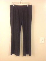 Elie Tahari Women's Size 8 Dress Pants Gray Grey Glen Plaid Prince Wales Check