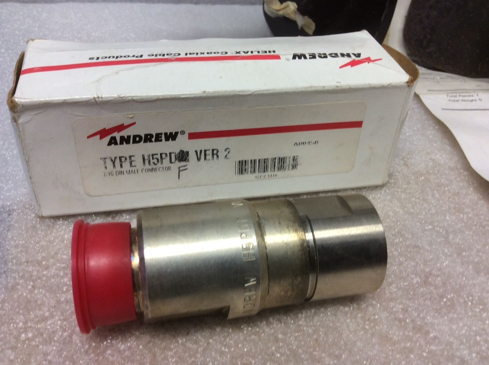 ANDREW HELIAX H5PDF CONNECTOR 7/16 DIN FEMALE VERSION 2 NOS NEW RARE SALE $59 - $58.41