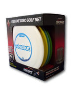 Frisbee Golf Set  Deluxe 4 Disc Bag PDGA Lawn G... - $58.99