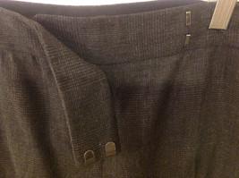 Elie Tahari Women's Size 8 Dress Pants Gray Grey Glen Plaid Prince Wales Check image 3
