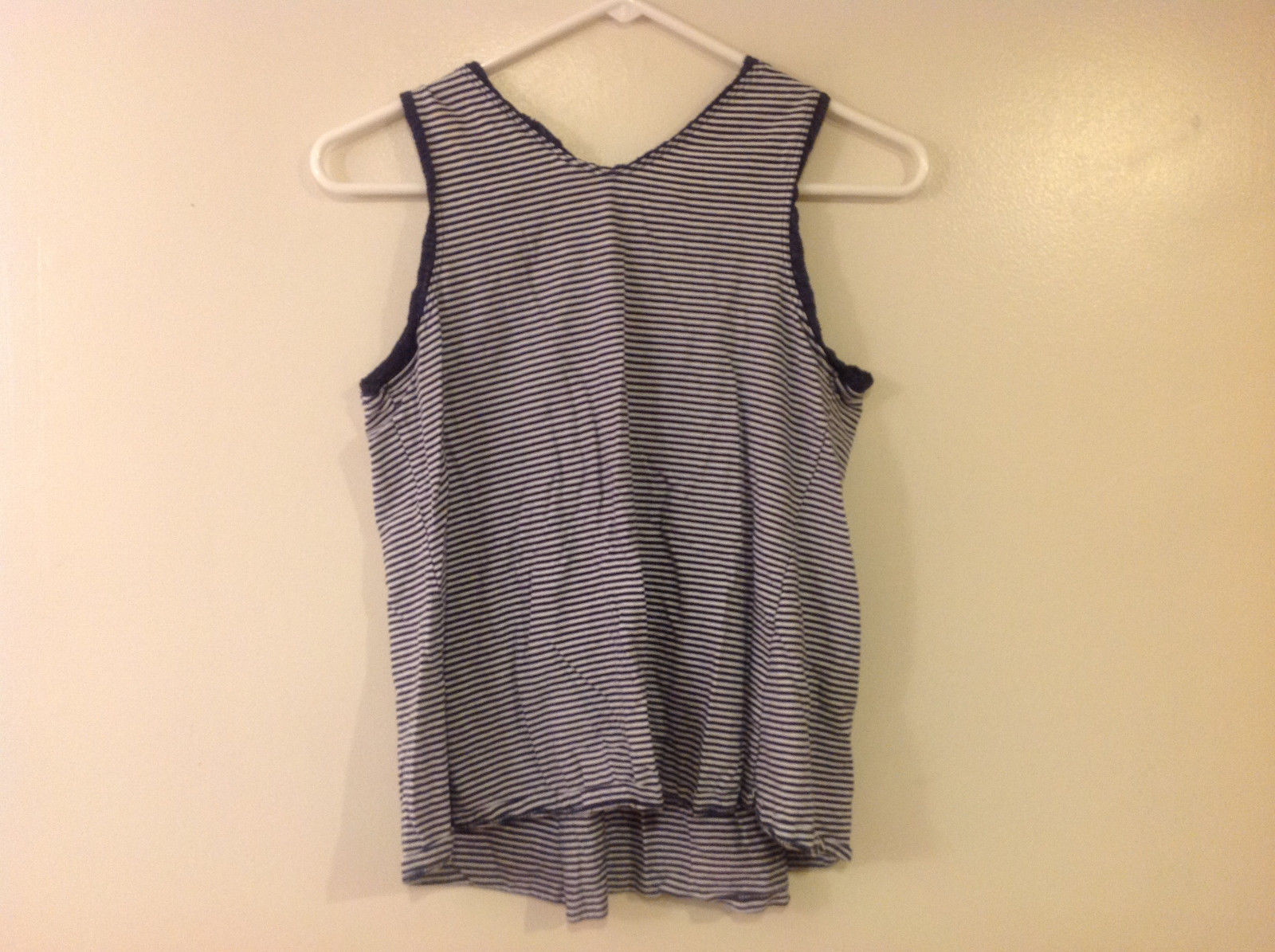 Old Navy Maternity Women Size Xs Tank Top Nautical Navy