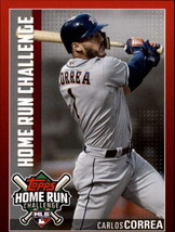2019 Topps Home Run Challenge Codes #HRC-19 Carlos Correa NM-MT Houston ... - $4.99