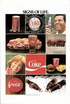 1978 Coca Cola Sign of Life Full Page Color Print ad - $10.00
