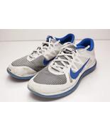 Nike Free 12 White Blue Men's Running Shoes - $32.00