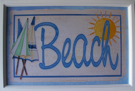 Wholesale Lot of 6 Beach Cafe Ocean Seafood Market Wood Pub Sign - $60.00
