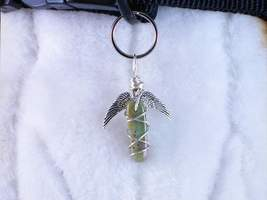 Winged Guardian - jewelry for people or pets, z... - $18.00