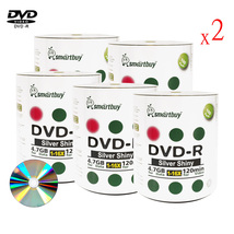 1000 Pack Smartbuy 16X DVD-R 4.7GB 120Min Shiny Silver Blank Media Record Disc - $156.51