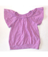 Cherokee Toddler Girls Shirt Blouse Purple Size 18M EUC - $6.93