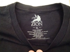 Bob Marley Rasta Reggae Zion Rootswear Jamaican T Shirt XL - $17.66