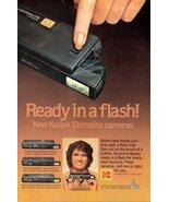 1979 Kodak Ektralite Camera Ready in a Flash print ad - $10.00