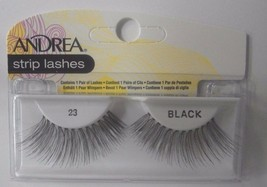 Andrea's Strip Lashes Fashion Eye Lash Style 23 Black (Pack of 4) - $13.97