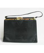 Large Classic Lizzard Vintage Handbag - $49.00