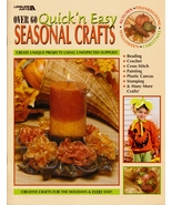 NEW OVER 60 QUICK 'N EASY SEASONAL CRAFTS AUTUMN, HALLOWEEN & MORE      ... - $4.95