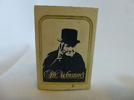 Sir Winston's Hotel Queen Mary Matchbook Match box Long Beach CA - $19.78