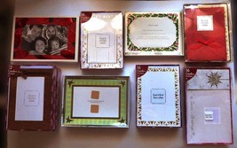 Lot of 130 (4x6) PHOTO FRAME Greeting Cards Gold Holiday Christmas New Y... - $65.00