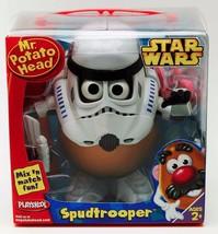 STAR WARS Stormtrooper Spudtrooper MR Potato Head 2005 Playskool New in Package - $19.90