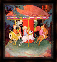 Merry Go Round by Dorothy P. Lathrop 1934 First Issue Book Art Full Color - $14.99