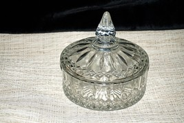 Vtg 60s Lidded Candy Dish Princess Pattern Cand... - $14.84