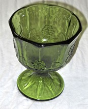 EUC Vintage Indiana Colony Glass Green Harvest ... - $14.84
