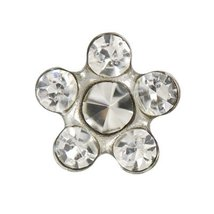 White Crystal April Daisey - $9.99