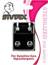 Studex Cubic Zirconia Sterilized Piercing Earrings Stainless Steel - $8.99