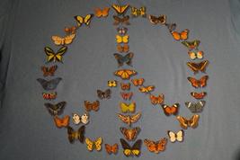 Butterflies, Peace, XL Mens T-Shirt - $8.95