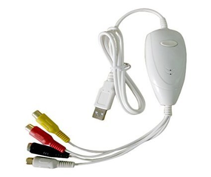 AV Grabber S-Video RCA Phono to USB Audio Video Capture Device for Apple Mac, used for sale  USA