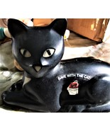 Union Carbide Eveready Black Cat Save with the Cat Plastic Bank - 1981 - $15.00