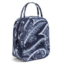 Vera Bradley Quilted Signature Cotton Iconic Lunch Bunch Bag, Indio