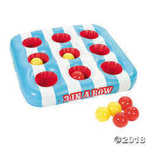 """Inflatable """"3 in A Row"""" Carnival Game - $24.24"""