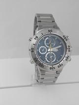 Seiko SDWF43, Chronograph, Lumibright hands, blue dial - $220.00