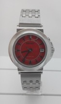 Seiko watch SKH441, kinetic, red dial, movement 5M42 - $165.00